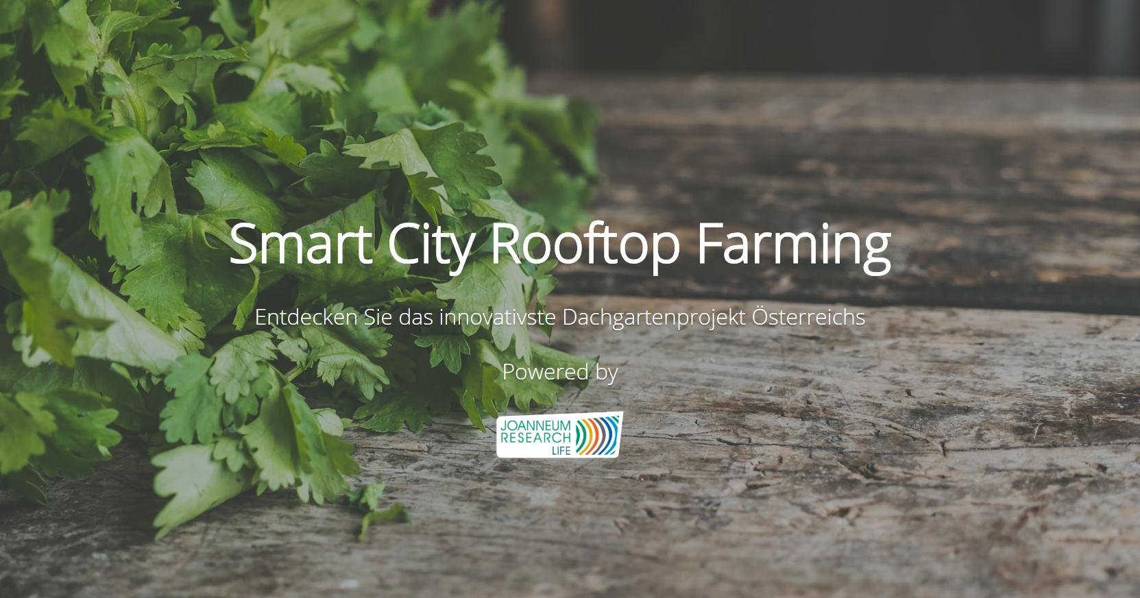 Smart City Rooftop Farming Smart City Rooftop Farming
