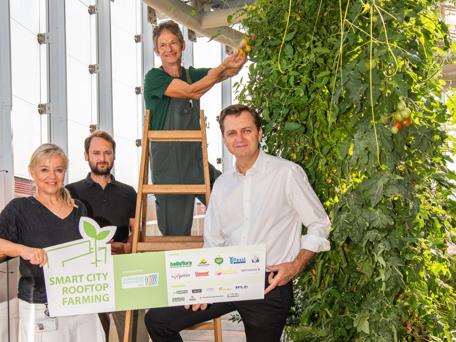 Energy Globe Award 2020 Smart City Rooftop Farming